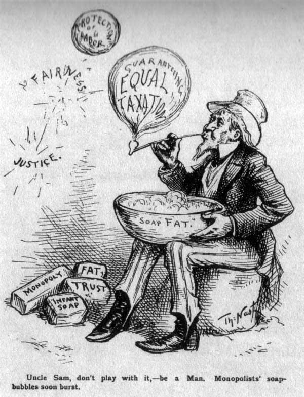 Thomas Nast Gilded Age Cartoons